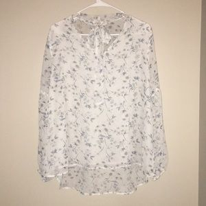 Umgee by Urban Outfitters Floral V-Neck Top